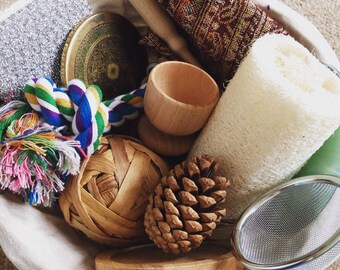 Treasure Basket Starter Set Sensory Baby Toy