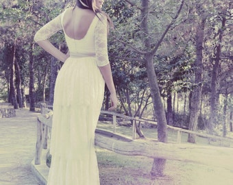 Boho Wedding Dress, Bohemian Wedding Dress, Wedding Dress, Boho Bridal Dress, Boho Bridal Gown, Boho Wedding Gown, Bohemian Wedding Gown