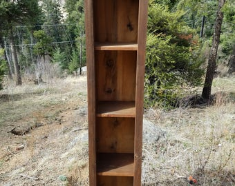 Stained Barn Wood Cabinet