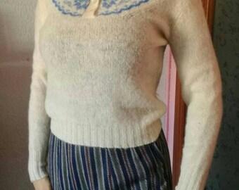 50s amazing wool sweater