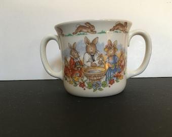 Royal Doulton 'Bunnykins' Christening cup