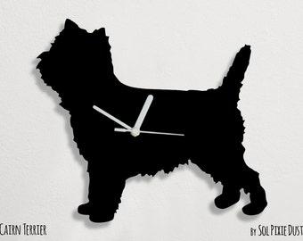 Cairn Terrier Dog - Wall Clock