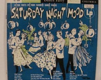 Saturday Night Mood Record Album Cover and Record