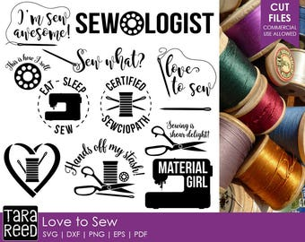 Sewing svg files / Sewing files for Cricut / Sewing files for Silhouette /gifts for Sewers / Sewing / Commercial Use Allowed