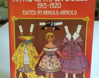 Antique Paper Dolls 1915-1920