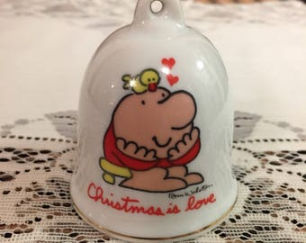Ziggy Bell Christmas Bell Christmas Ornament Is Love
