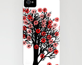 Cherry Blossom Tree on Phone Case - Spring tree, Samsung Galaxy S7, iPhone 6S, iPhone 6 Plus, Gifts for her, Gifts for mum, iPhone 8