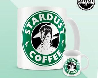 Stardust de David Bowie - Starbucks - tasse à café café - Mug - 11oz
