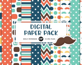 50% OFF SALE! Father's Day Digital Paper, Dad Background Paper - Commercial Use, Instant Download