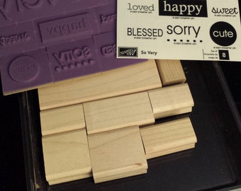 "2007 Stampin' Up ""So Very"" NEW Stamp Set"