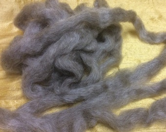 Leicester Longwool Roving.  8 ounces