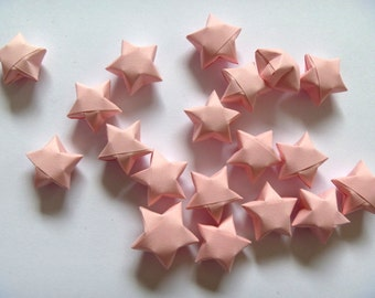 100 Origami Stars - Rosy Pink