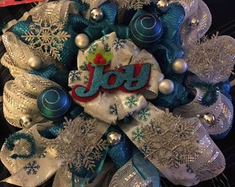 JOY Winter Wreath