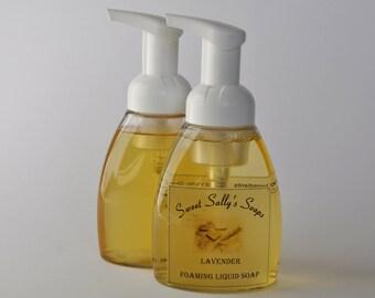 Liquid Foaming Hand Soap, Natural Hand Soap, Pump Soap