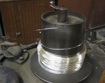 FREE SHIPPING 10Ft  20G Sterling Silver Round Wire DS (1.95/Ft Includes Shipping)