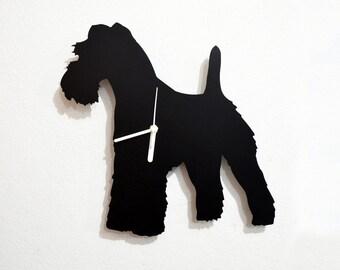 Kerry Blue Terrier Dog - Wall Clock