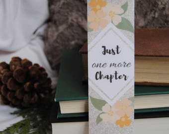 Floral Chapter Bookmark