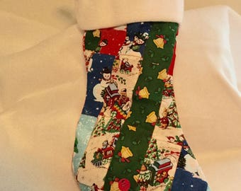 Christmas Stocking Quilted