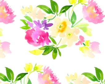 Pink Peonies Wrapping Paper