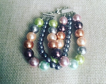 Three Strand Pearls