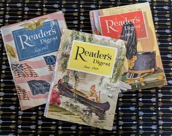 Readers Digest books 1957, 1959, 1960