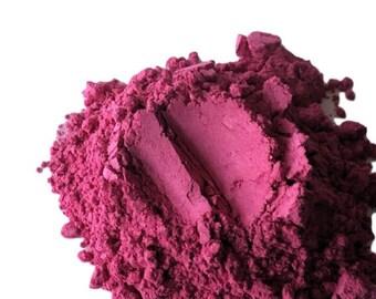 Pink Matte Eye Shadow  Atom Bomb  Hot Pink  Makeup Eye Shadow Eyeshadow Loose  Mineral Makeup Vegan Natural Organic Smokey Eyes Pigmented