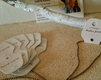 20 x stand selling jewelry Necklace Bracelet chain display cardboard