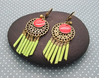 Kit earrings Bohemian spirit