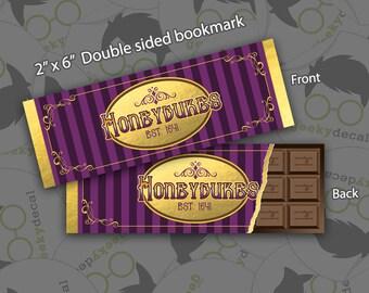 Bookmark - Honeydukes Chocolate