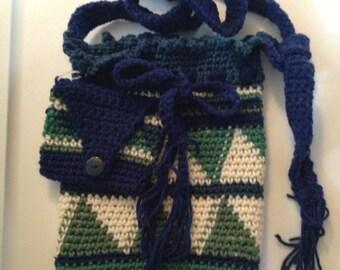 Bag, handbag, shoulder bag, tote. Crochet, accessories
