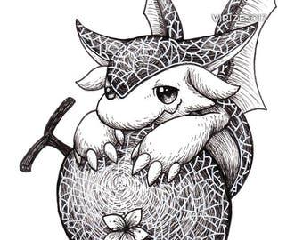 Puzzle & Dragons: Melon Dragon [ORIGINAL]