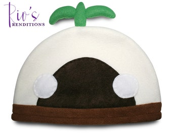 Final Fantasy XI - Mandragora Hat / Fleece Hat / Winter Hat / Final Fantasy Hat / Video Game Characters