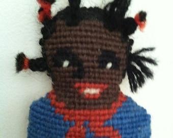 Needlepoint Doll