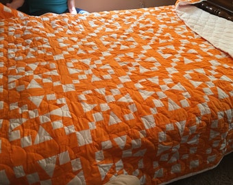 Fifty-four Forty or Fight Queen Size Quilt