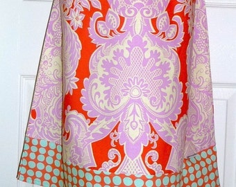 A-line SKIRT - Amy Butler - Love - Made in ANY Size - Boutique Mia