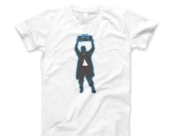 Say Anything Shirt T New 80's John Cusack  Lloyd Dobler Boombox Vintage Retro Style Tee