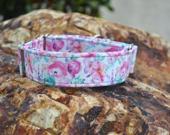 The Olivia Dog Collar (Martingale or Buckle) Its the Pits Senior Star