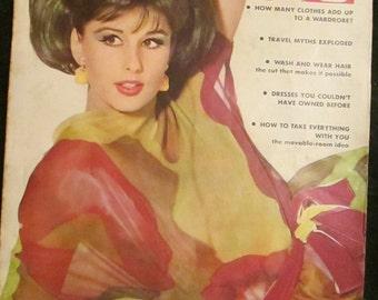 1962 VOGUE Fashion MAGAZINE