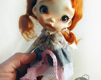 Baby Pin' BJD' doll , Full set,collectible resin OOAK, ball joint doll by Chrishanthi ''Ppinkydolls''two options