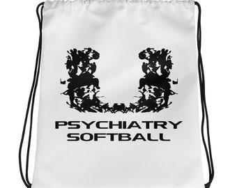 UM Rorschach Softball Drawstring bag