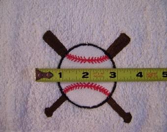 Free personalizing Beautifully embroidered baseball towel