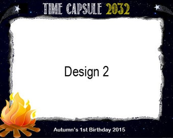 Time Capsule Notecards