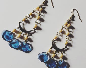 The Sand and Sea Earrings