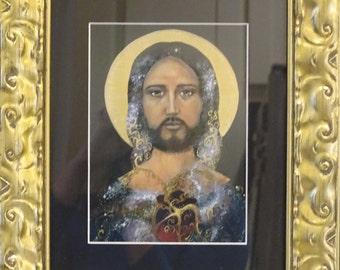Jesus Christ Framed Print, Sarah Pierzchala