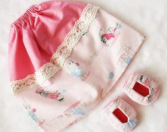 Pink Kitties Hijabi Doll Accessories