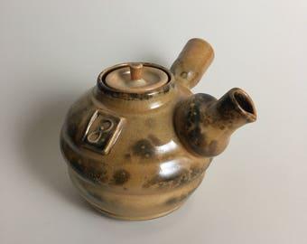 Carbon Trap Shino Teapot