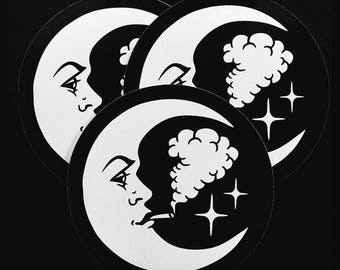 New Moon Sticker