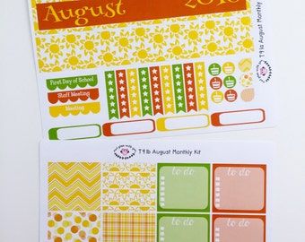T91 || August Sunshine Monthly Kit
