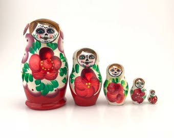 Day of the Dead Nesting Doll