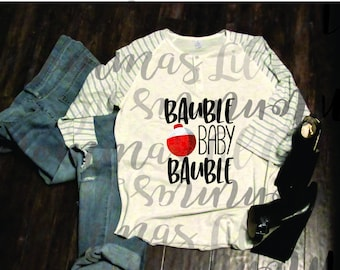 Buable Baby Bauble, Dye Sublimation Transfer